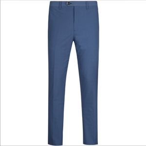 Ted Baker Reegtro blue slim fit check trousers 32R